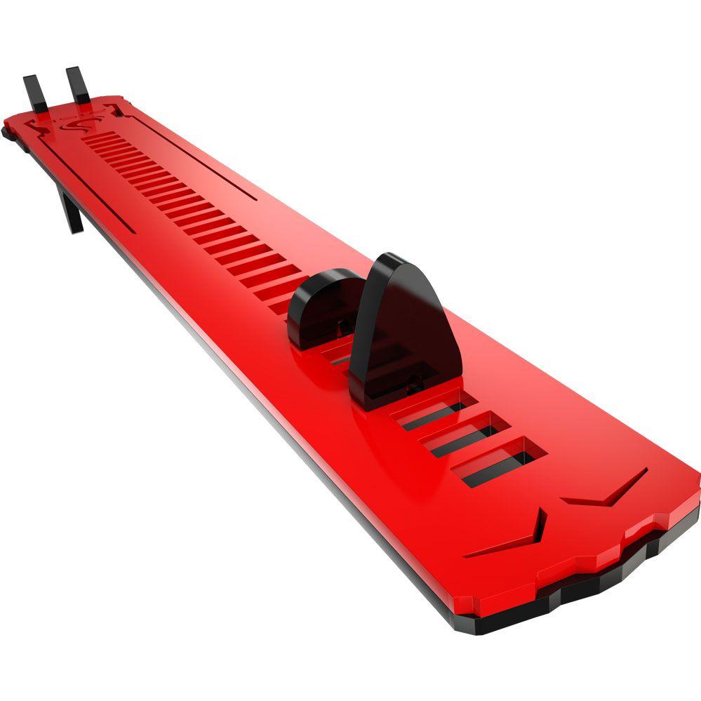 Suporte para Placa de Vídeo - RMSV04BR - Preto e Vermelho Small - Rise Mode
