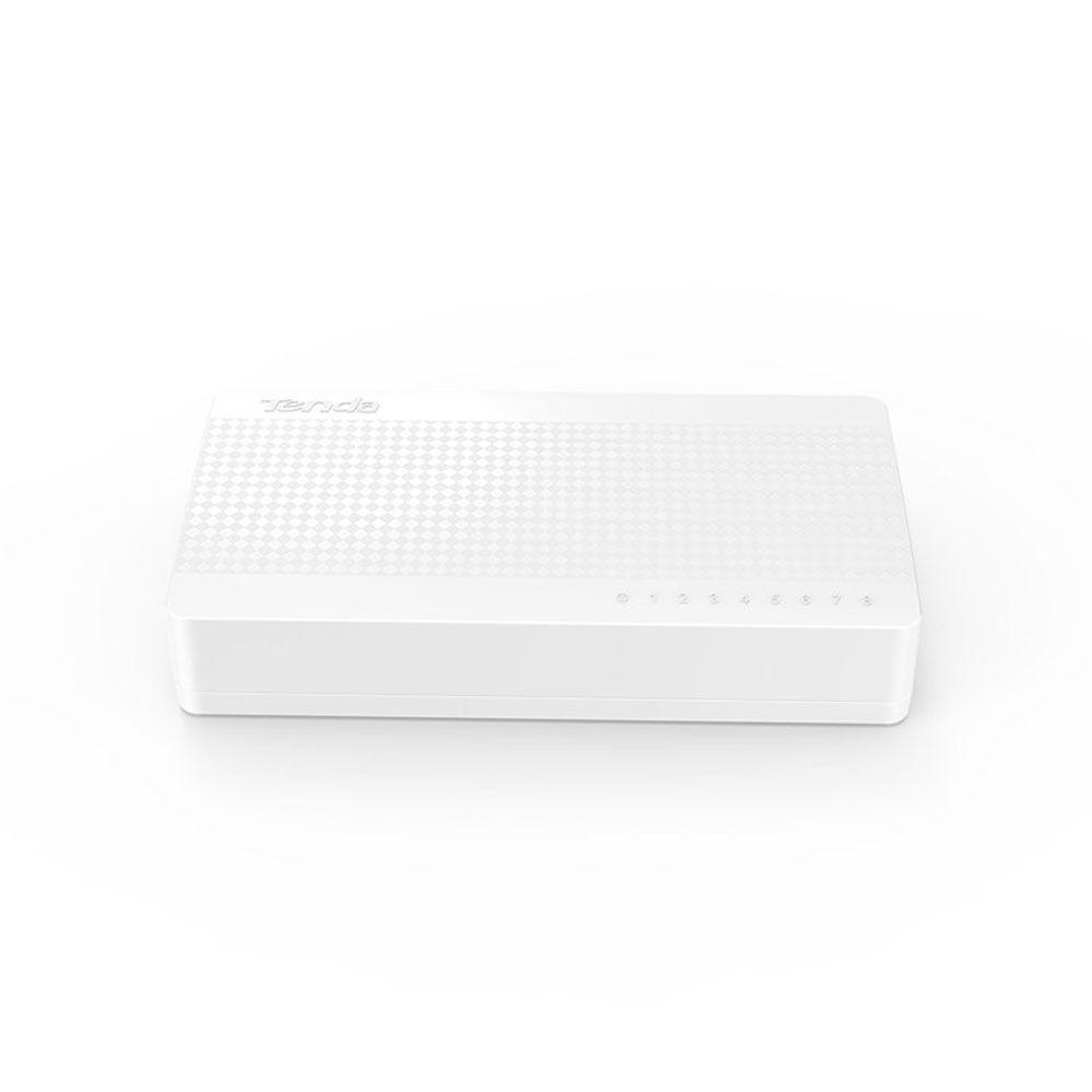 Switch Ethernet S108 de 8 portas - 10/100Mbps - Tenda