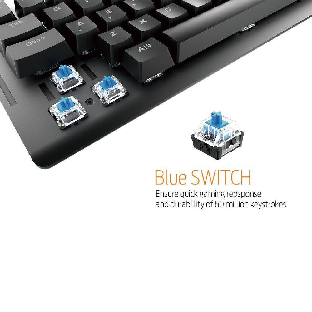 Teclado Gamer - Mecânico - Hermes E2 - RGB - Gamdias