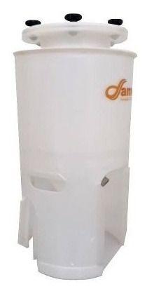- Fermentador Cônico 60°para Geladeira / 60 Litros - Completo