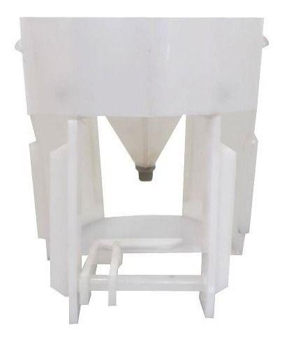- Fermentador Cônico 60°para Geladeira / 20 Litros - Completo