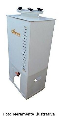 - Fermentador Cônico Artesanal 80 L Quadrado - Completo