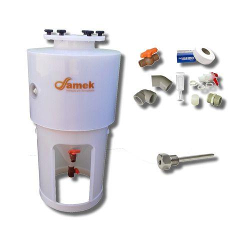 - Fermentador Cônico Cerveja 120 L Proteção Térmica - Completo