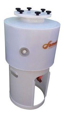 - Fermentador Cônico Cerveja 200 L Proteção Térmica - Completo