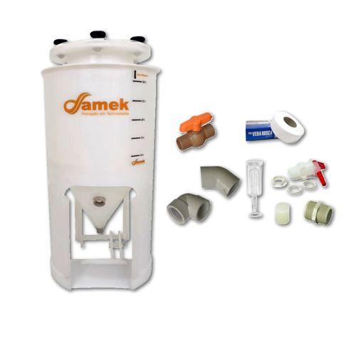 - Fermentador Cônico Para Geladeira 150 L - Kit De Acessórios