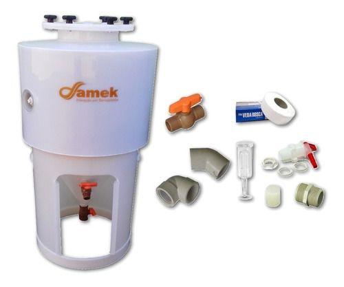 - Fermentador Cônico Proteção Térmica 100 L - Kit De Acessórios