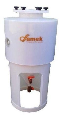 - Fermentador Cônico Proteção Térmica 120 L - Kit De Acessórios