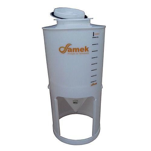 - Fermentador Cônico 50 L Tampa Rosca - Kit De Acessórios