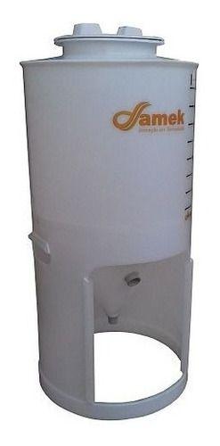 - Fermentador Cônico 60 L Tampa Rosca - Kit De Acessórios