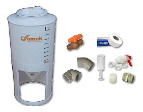 - Fermentador Cônico 100 L Tampa Rosca - Kit De Acessórios
