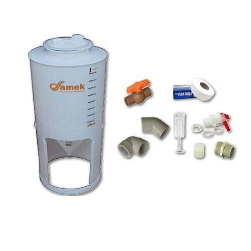 - Fermentador Cônico 200 L Tampa Rosca - Kit De Acessórios