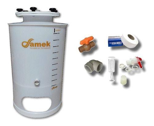 - Balde Fermentador Cônico 120 Litros - Kit De Acessórios