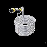 Chiller De Imersão Alumínio 30cm C/ conexão - 10Mts