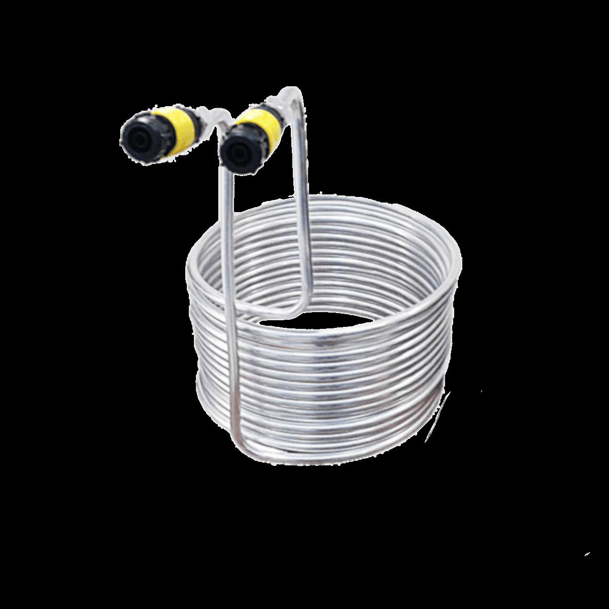 Chiller De Imersão Alumínio 30cm C/ conexão - 20Mts