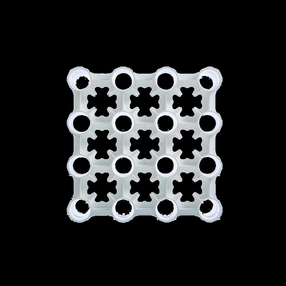 Escorredor Para 32 Garrafas Modular C/ Bandeja