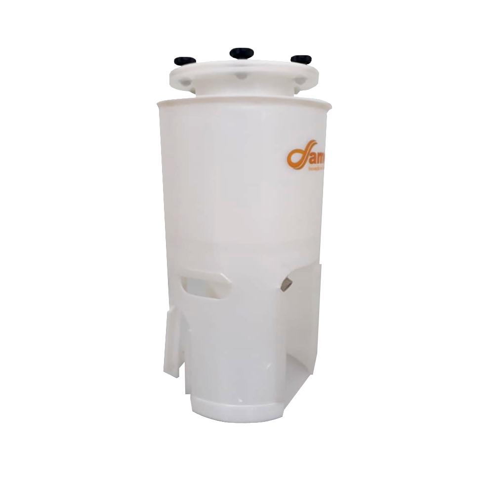 Fermentador Cônico 60° Para Geladeira / 100 Litros - Total 110