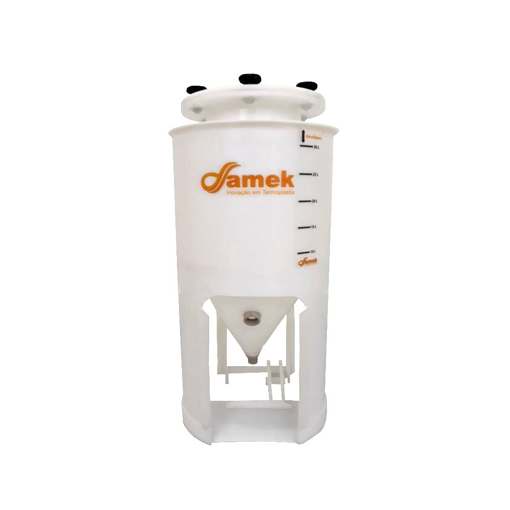 Fermentador Cônico 60°para Geladeira / 80 Litros - Total 90l