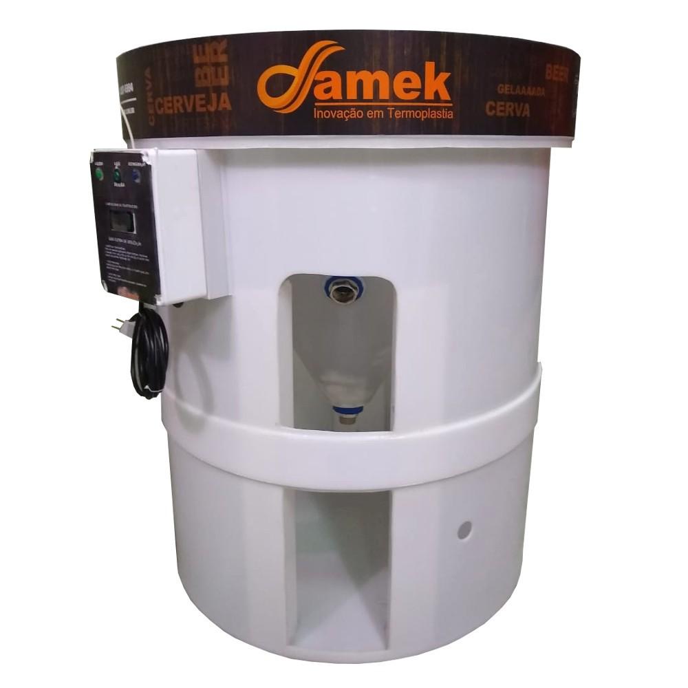 Fermentador Cônico Cerveja 500 Litros Refrigerado - Completo