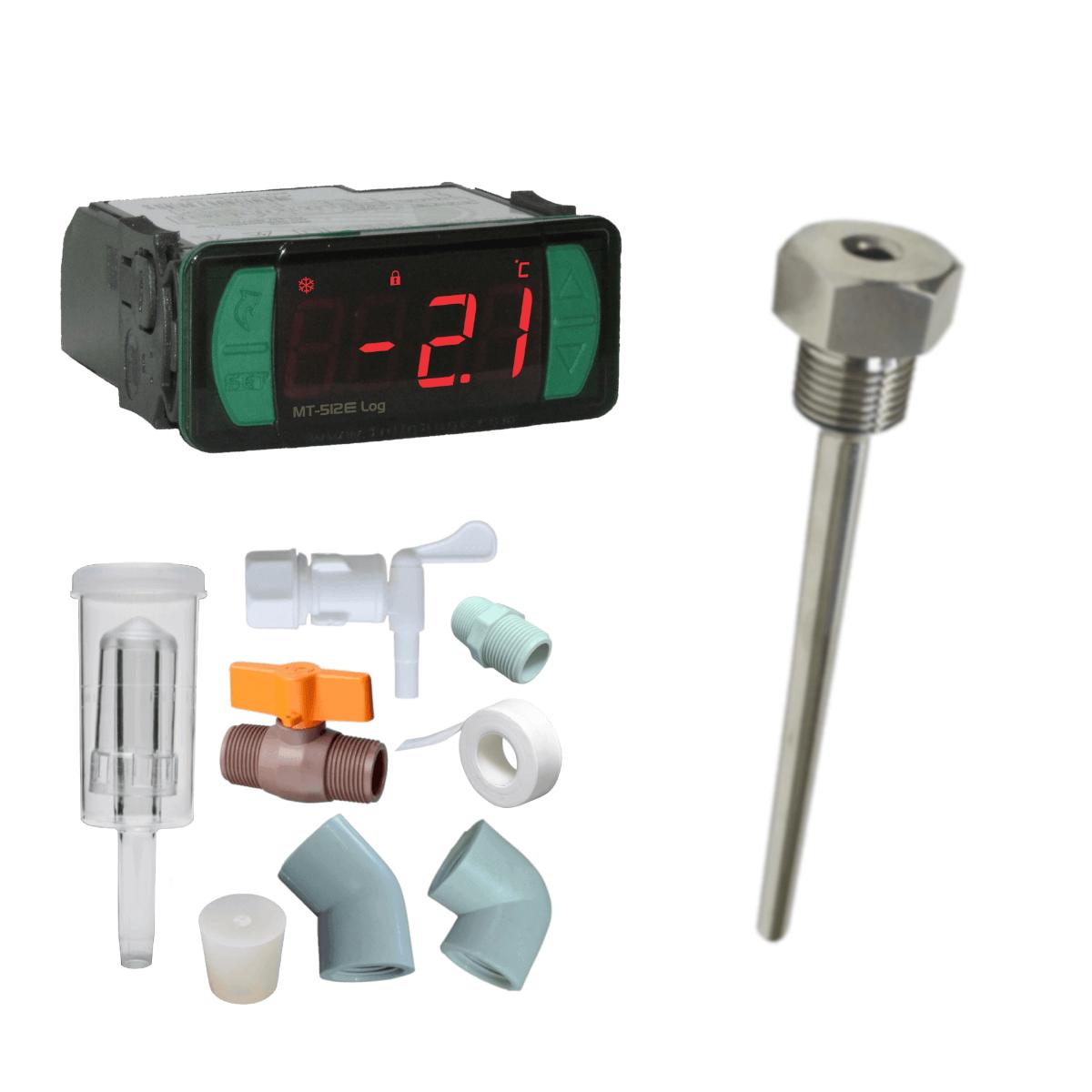 KIT Controlador de Temperatura / Acessórios / Poço