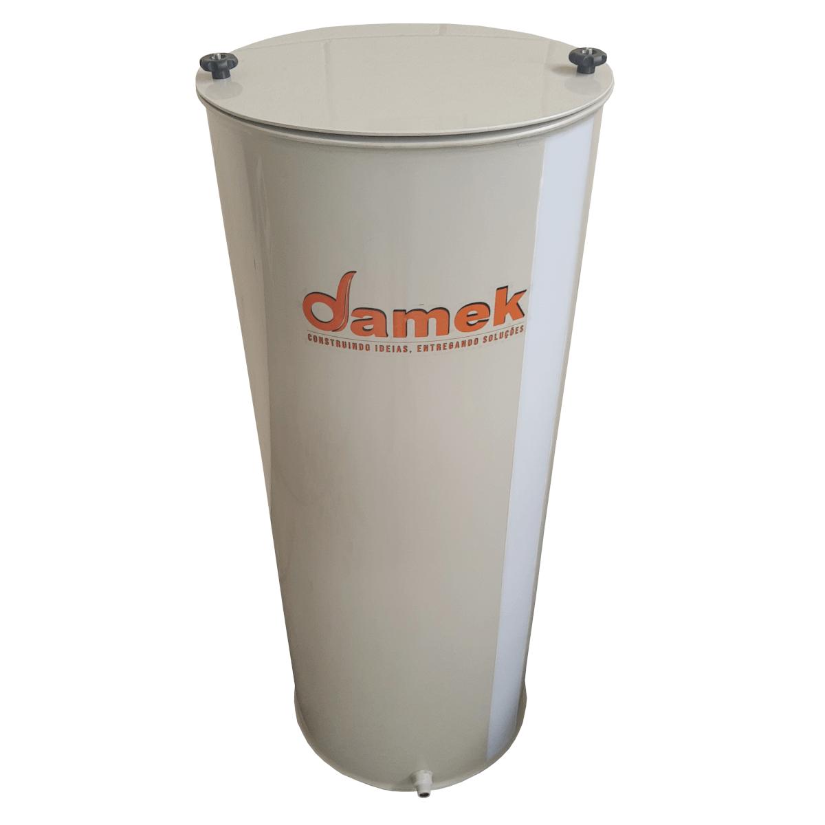 - Reservatório Plástico Com Tampa Articulada 150 L / Atóxico