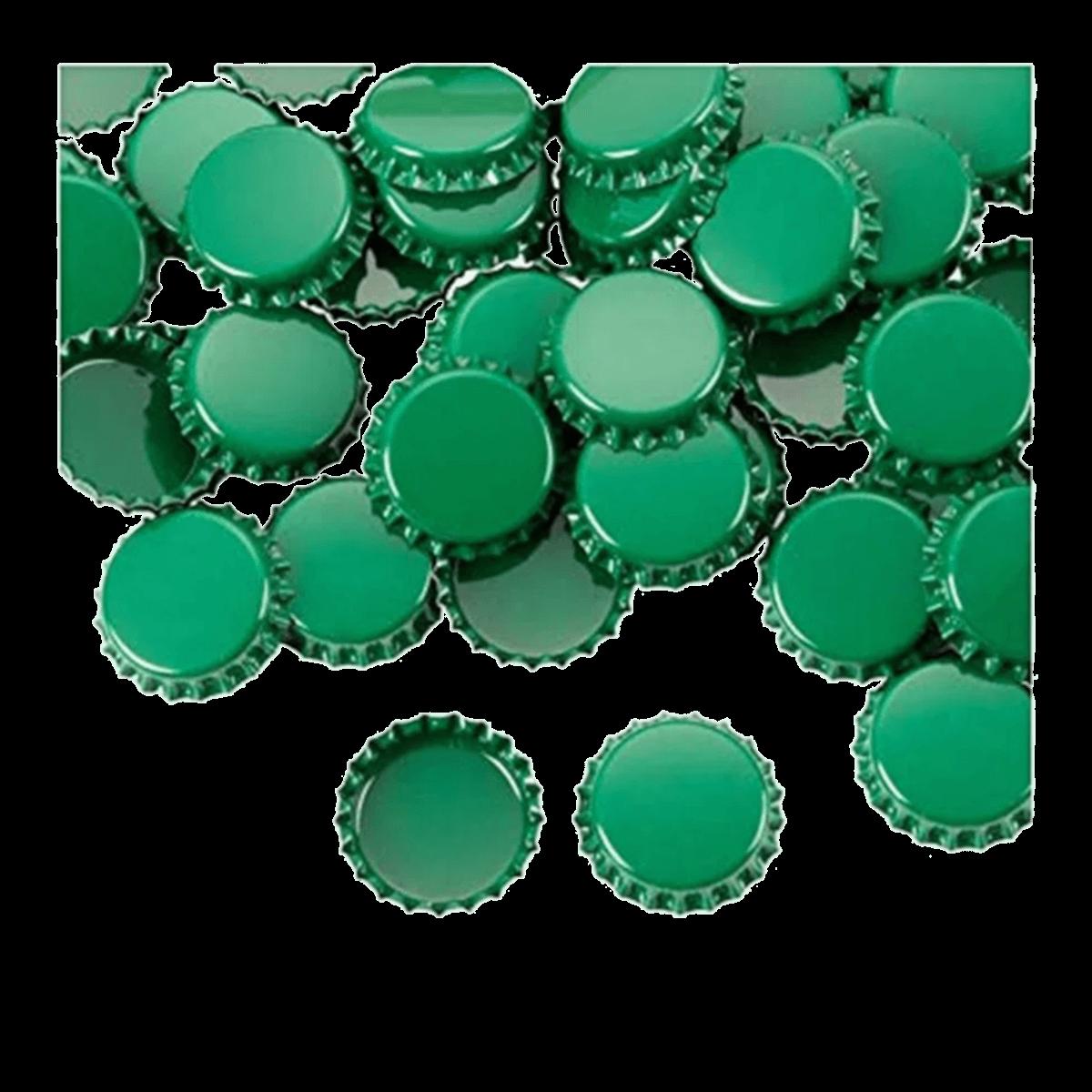 Tampa Metalica PryOff Verde - Pct 100 unidades