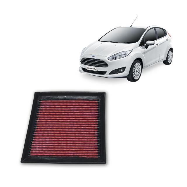 Filtro De Ar Esportivo Inbox Ford New Fiesta 1.0 Ecoboost  2016 em diante