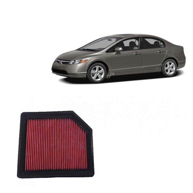 Filtro De Ar Alta Performance HONDA CIVIC 1.8 2007 a 2012