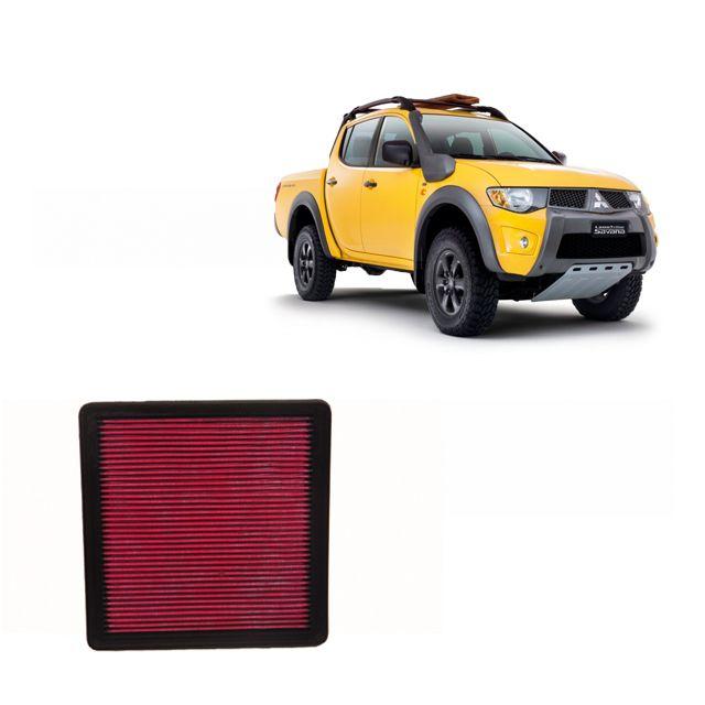 Filtro De Ar Alta Performance Mitsubishi L200 SAVANA 3.2 2011 a 2019