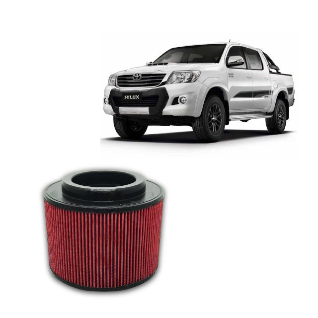 Filtro De Ar Alta Performance Toyota Hilux SR/SRV  2.5/2.7/3.0 2005 a 2015