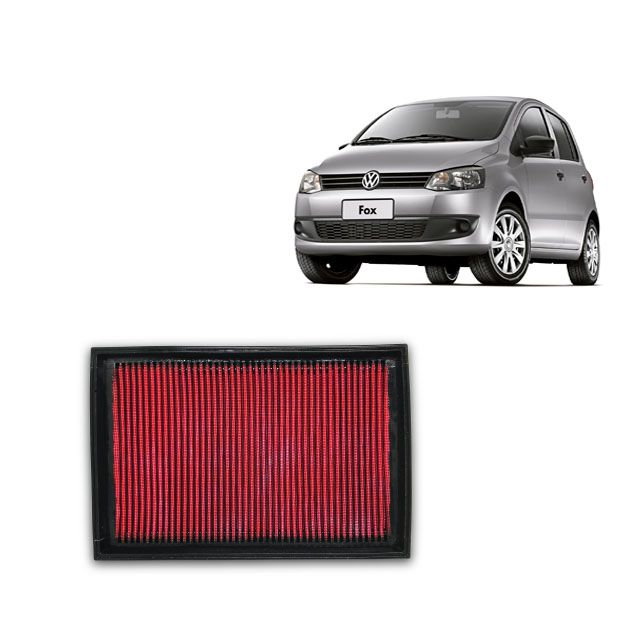 Filtro De Ar Alta Performance  Vw Fox 1.0 vht.