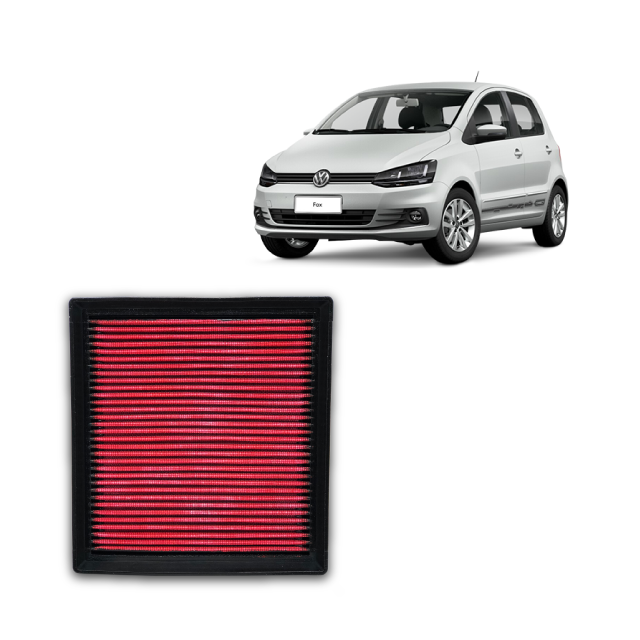 Filtro De Ar Alta Performance  VW Fox 1.6 MSI 2015->