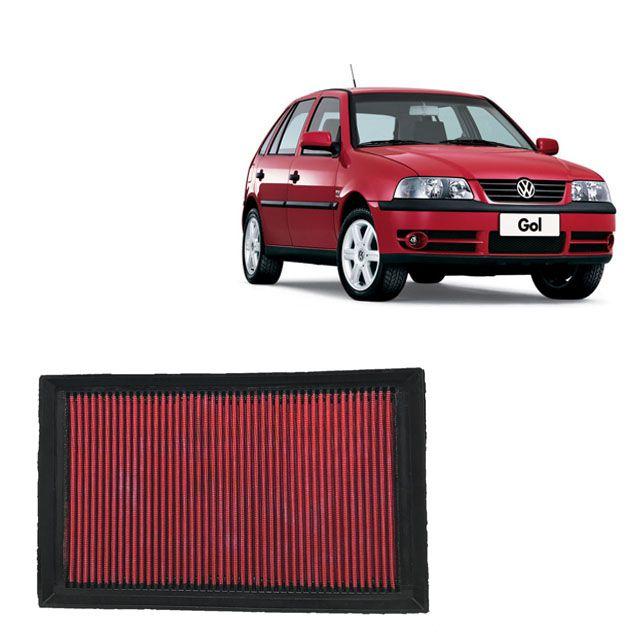 Filtro De Ar Esportivo Inbox VW Gol 1.0 16V MI 2001 em diante