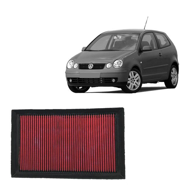 Filtro De Ar Alta Performance VW Polo 1.0 8V MI 2002>