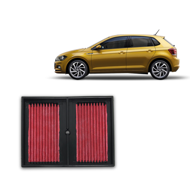 Filtro De Ar Alta Performance  VW Polo 1.0 TSI, ano 2017 em diante.