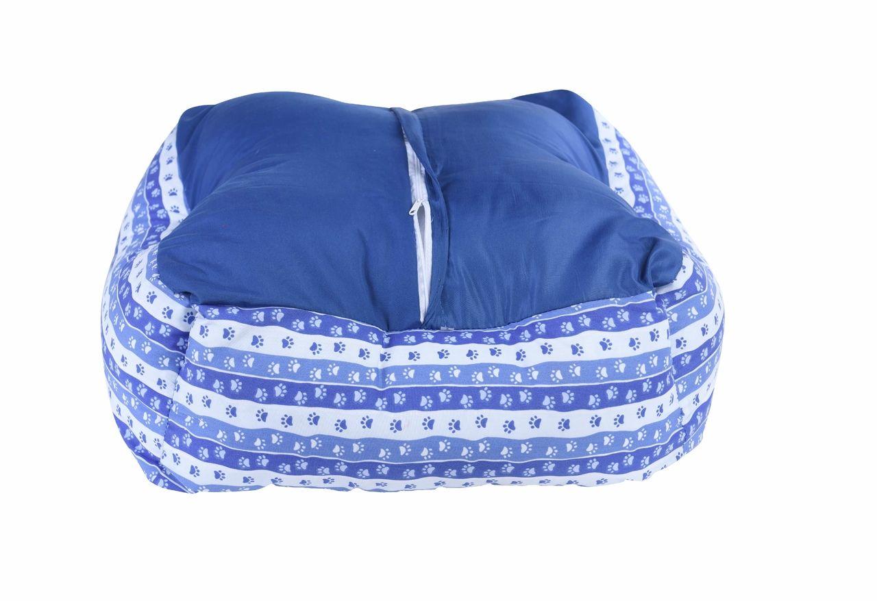 Caminha cachorro PET estofada Azul (P)