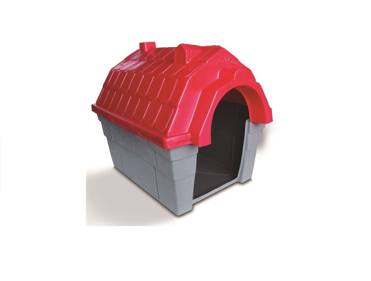 Casinha Cachorro Plástica nº 02 Vermelha