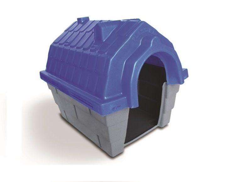 Casinha Cachorro Plástica nº 03 Azul