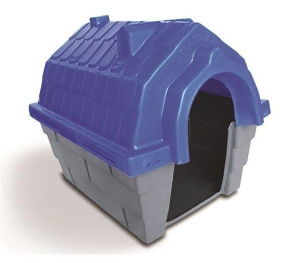 Casinha Cachorro Plástica nº 04 Azul