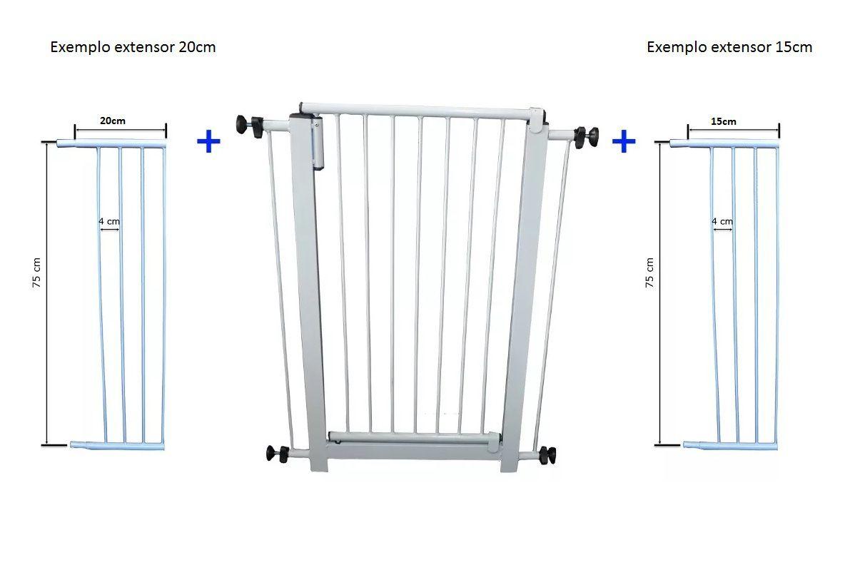 Extensor para portão pet 15cm