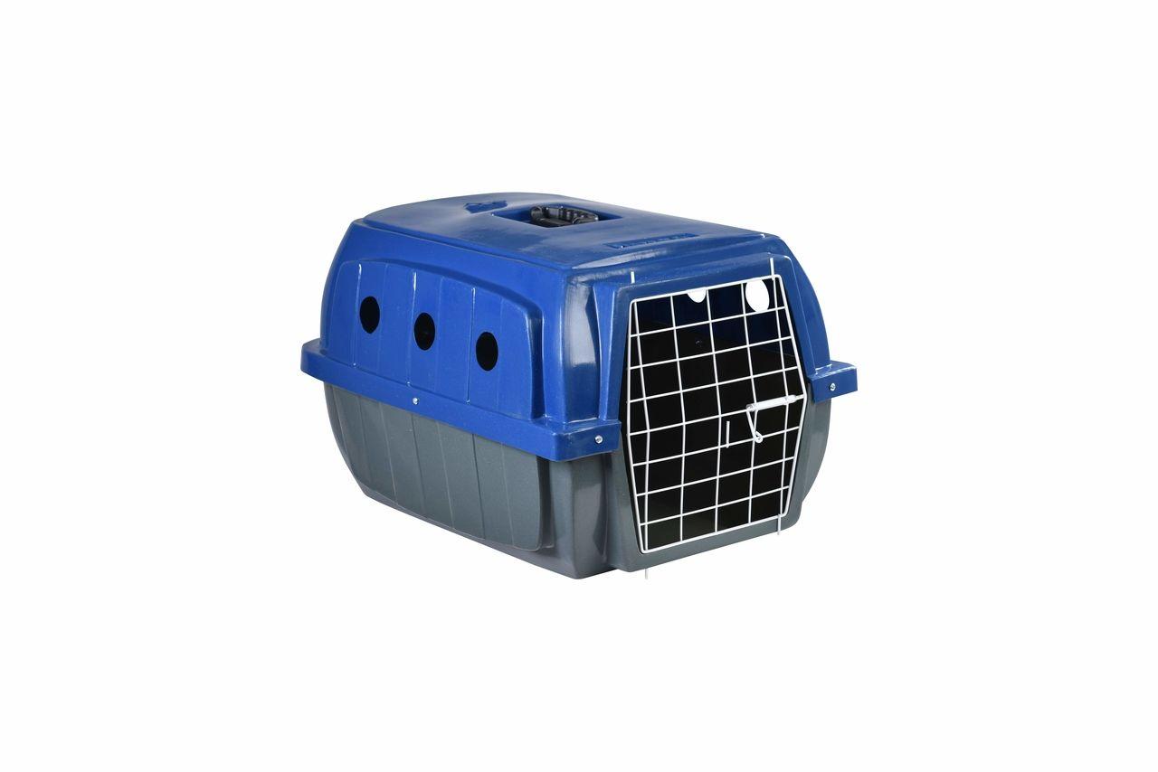 Transporte Pet Plástico nº 02 Azul