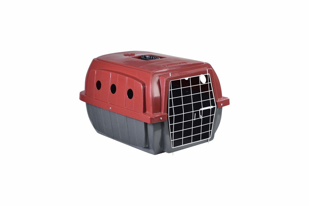 Transporte Pet Plástico nº 02 Vermelho