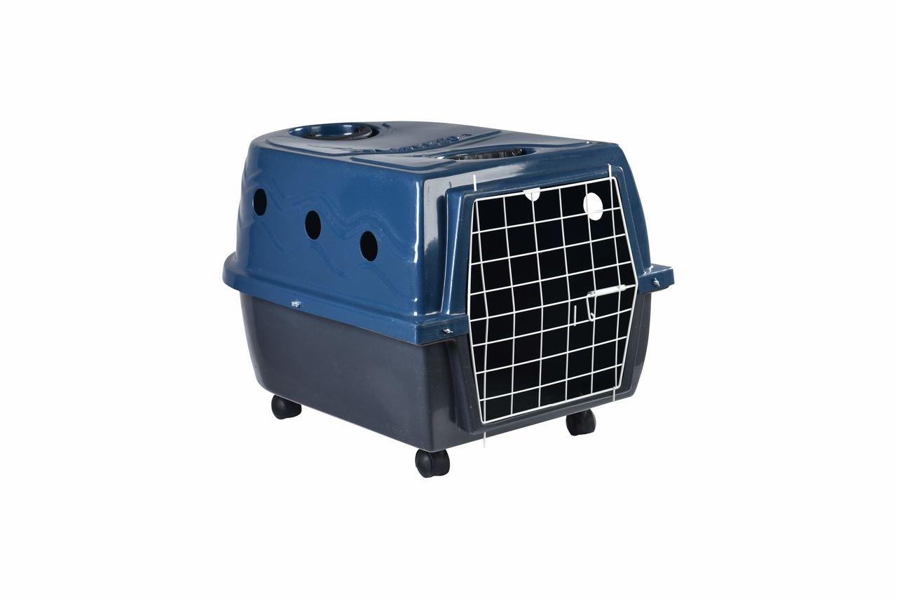 Transporte Pet Plástico nº 03 Azul