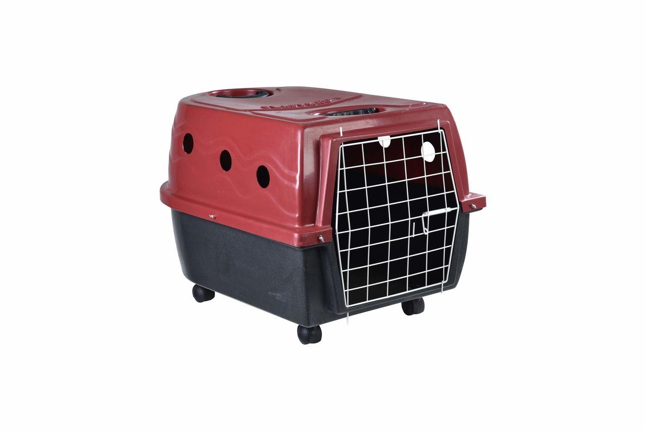 Transporte Pet Plástico nº 03 Vermelho