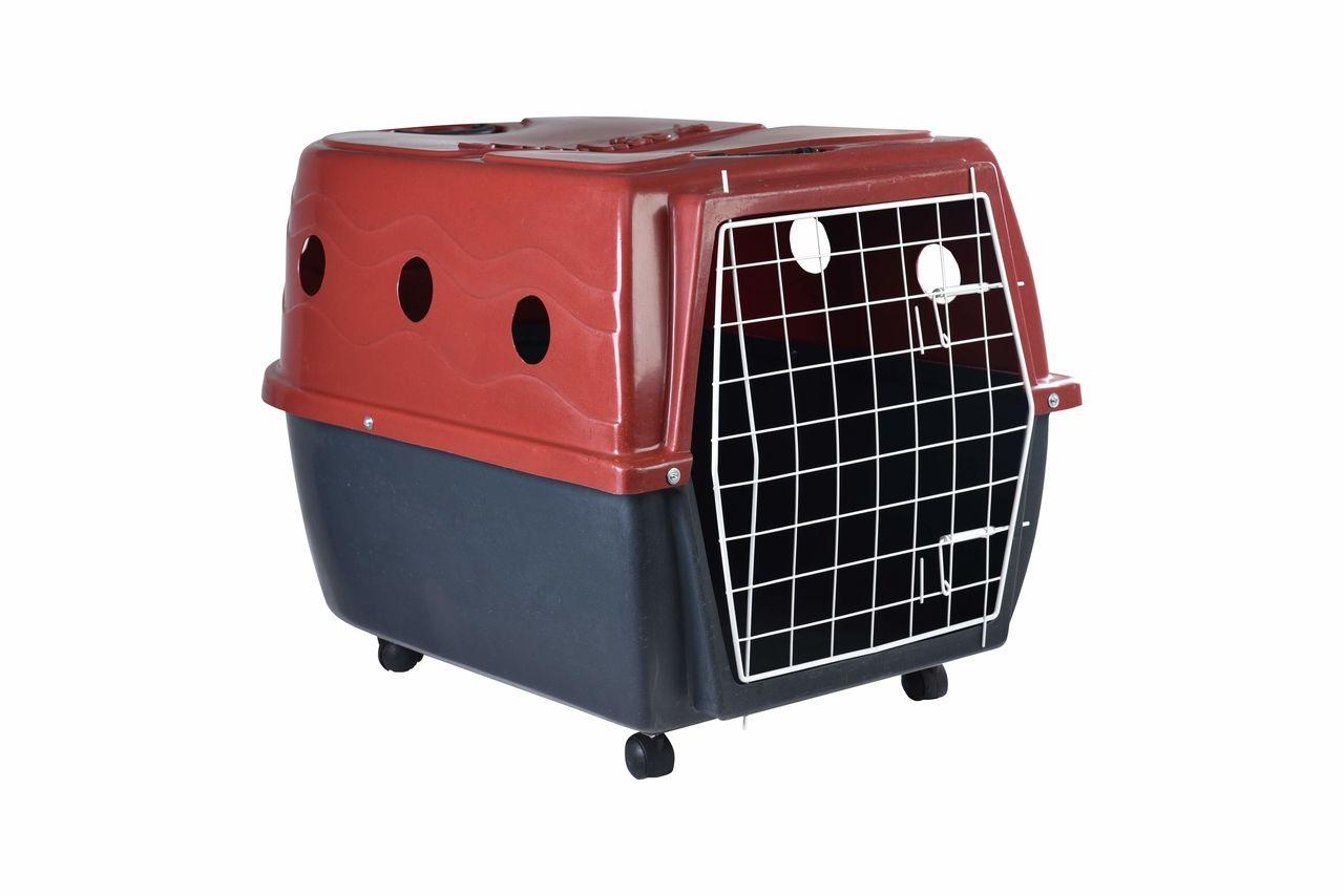 Transporte Pet Plástico nº 04 Vermelho
