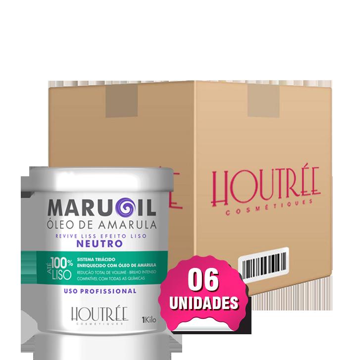 Maruoil Liss Neutro 1Kg - Caixa com 6 unidades