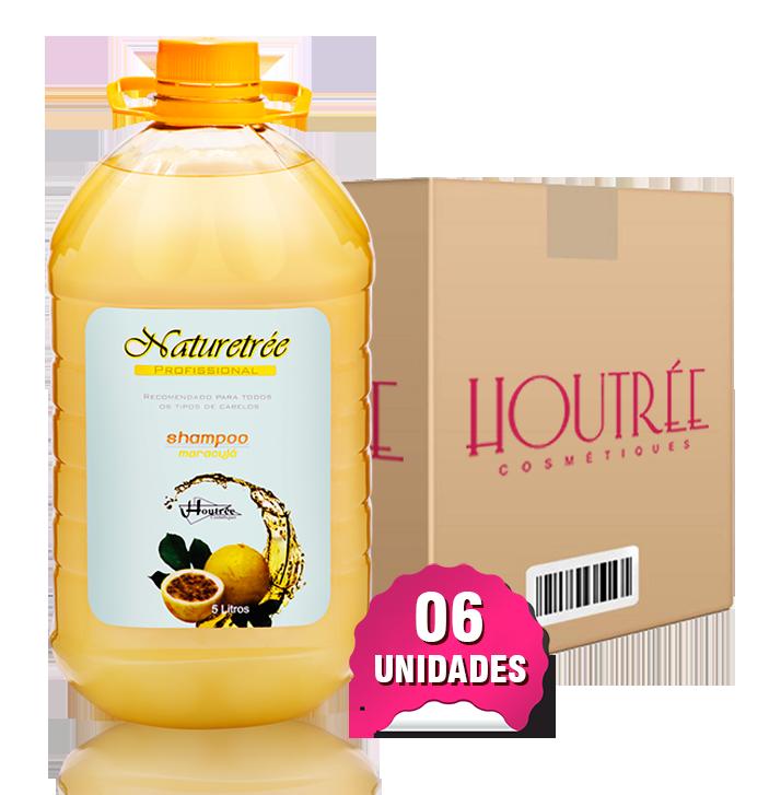 Shampoo Maracujá 5lts - Caixa com 6 unidades