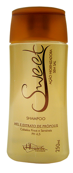Shampoo Sweet Mel com Própoles 250gr