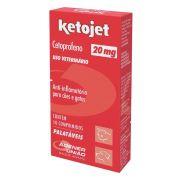 Anti-Inflamatório Ketojet 20mg Agener União 10 Comprimidos