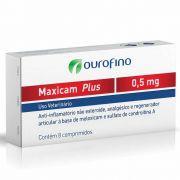 Anti-inflamatório Maxicam Plus Ouro Fino 0,5mg