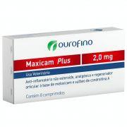 Anti-inflamatório Maxicam Plus Ouro Fino 2,0mg